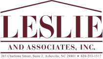 Logo-Leslie and Assoc-with contact-info